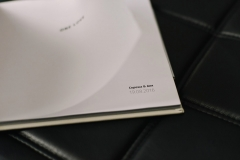 Полиграфическая книга обложка из белого кожзама