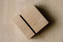 Дереяянный блок_01_фото в паспарту